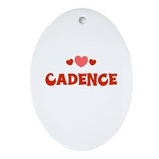 Cadence  Oval Ornament
