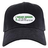 Green For Dad Organ Donor Donation Baseball Hat