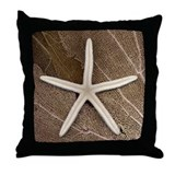 Starfish & Coral Throw Pillow