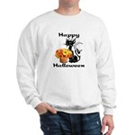 Halloween Black Cat Sweatshirt