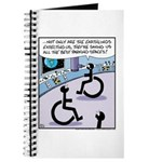 Handicap aliens searches for parking Journal