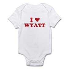 I LOVE WYATT Infant Bodysuit