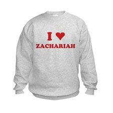 I LOVE ZACHARIAH Sweatshirt