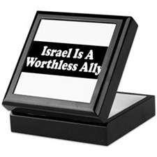 Cool Anti zionist Keepsake Box