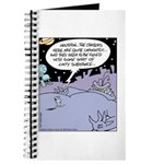 Alien Lint Monster Journal