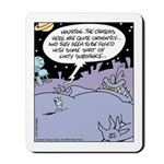 Alien Lint Monster Mousepad