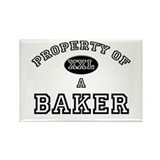 Property of a Baker Rectangle Magnet