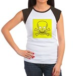 SKULL UP Women's Cap Sleeve T-Shirt