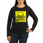 SKULL UP Women's Long Sleeve Dark T-Shirt
