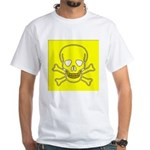 SKULL UP White T-Shirt