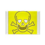 SKULL UP Rectangle Magnet