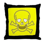 SKULL UP Throw Pillow