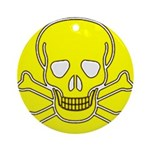 SKULL UP Ornament (Round)