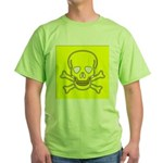 SKULL UP Green T-Shirt
