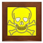 SKULL UP Framed Tile