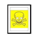 SKULL UP Framed Panel Print
