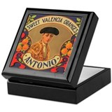 Antonio Oranges Keepsake Box