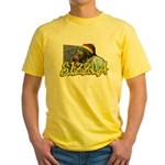 SIZZLA Yellow T-Shirt