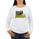 SIZZLA Women's Long Sleeve T-Shirt