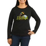 SIZZLA Women's Long Sleeve Dark T-Shirt
