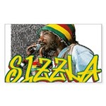 SIZZLA Rectangle Sticker