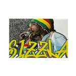 SIZZLA Rectangle Magnet