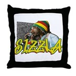 SIZZLA Throw Pillow