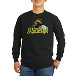 SIZZLA Long Sleeve Dark T-Shirt