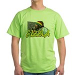 SIZZLA Green T-Shirt