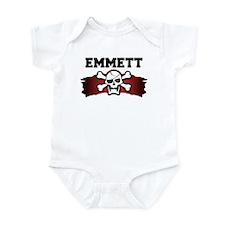 emmett is a pirate Infant Bodysuit