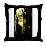 JAH WISE Throw Pillow