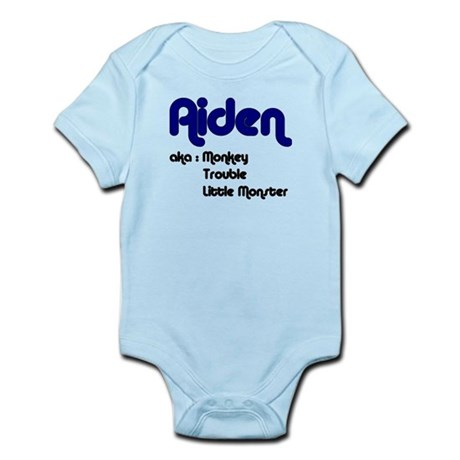 Aiden (Also Known As) Infant Bodysuit