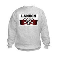 landon is a pirate Sweatshirt