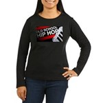 OLD SCHOOL Women's Long Sleeve Dark T-Shirt