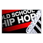 OLD SCHOOL Rectangle Sticker