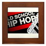 OLD SCHOOL Framed Tile