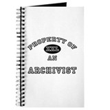 Property of an Archivist Journal