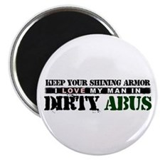 My Man In Dirty ABUs Magnet