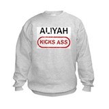 ALIYAH kicks ass Sweatshirt
