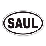 SAUL Euro Oval Decal