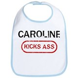 CAROLINE kicks ass Bib