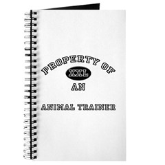 Property of an Animal Trainer Journal