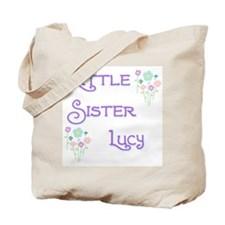 Little Sister Lucy Tote Bag