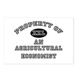 Property of an Agricultural Economist Postcards (P