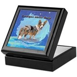 Cardigan Welsh Corgi 2 Keepsake Box