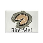 Bite Me Fortune Cookie Rectangle Magnet (10 pack)