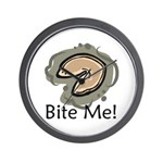 Bite Me Fortune Cookie Wall Clock