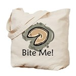 Bite Me Fortune Cookie Tote Bag