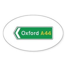 Oxford Roadmarker, UK Oval Decal
