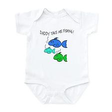 DADDY TAKE ME FISHING Infant Bodysuit